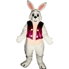 Bunny with Vest 2 Mascot - Sales