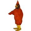 Cardinal Bird Mascot. This Cardinal Bird mascot comes complete with head, body, hand mitts and foot covers. This is a sale item. Manufactured from only the finest fabrics. Fully lined and padded where needed to give a sculptured effect. Comfortable to wear and easy to maintain. All mascots are custom made. Due to the fact that all mascots are made to order, all sales are final. Delivery will be 2-4 weeks. Rush ordering is available for an additional fee. Please call us toll free for more information. 1-877-218-1289