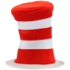 Deluxe Dr. Suess Cat in the Hat Striped Hat