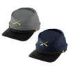 Deluxe Felt Civil War Kepi Cap