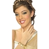 Gold Coin Bracelet. Makes a great costume accessory for Greek, Egyptian, or Roman periods as well as for gypsies and belly dancers.