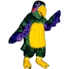 Colorful Parrot Mascot. This Colorful Parrot mascot comes complete with head, body, hand mitts and foot covers. This is a sale item. Manufactured from only the finest fabrics. Fully lined and padded where needed to give a sculptured effect. Comfortable to wear and easy to maintain. All mascots are custom made. Due to the fact that all mascots are made to order, all sales are final. Delivery will be 2-4 weeks. Rush ordering is available for an additional fee. Please call us toll free for more information. 1-877-218-1289