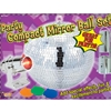 Compact Party Disco Mirror Ball Set