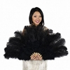 Burlesque Feather Fan