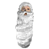 Father Christmas Santa Wig and Beard Set