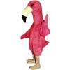 Flamingo Mascot. This Flamingo mascot comes complete with head, body, hand mitts and foot covers. This is a sale item. Manufactured from only the finest fabrics. Fully lined and padded where needed to give a sculptured effect. Comfortable to wear and easy to maintain. All mascots are custom made. Due to the fact that all mascots are made to order, all sales are final. Delivery will be 2-4 weeks. Rush ordering is available for an additional fee. Please call us toll free for more information. 1-877-218-1289