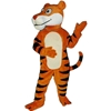 Friendly Tiger Mascot. This Friendly Tiger mascot comes complete with head, body, hand mitts and foot covers. This is a sale item. Manufactured from only the finest fabrics. Fully lined and padded where needed to give a sculptured effect. Comfortable to wear and easy to maintain. All mascots are custom made. Due to the fact that all mascots are made to order, all sales are final. Delivery will be 2-4 weeks. Rush ordering is available for an additional fee. Please call us toll free for more information. 1-877-218-1289
