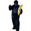 Gorilla With Chest Piece Adult Costume