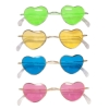 Heart Shaped 70's Glasses