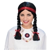 Bargain Native American Lady Wig