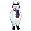 Jolly Snowman Mascot - Sales
