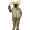 Kuddy Koala Mascot. This Kuddy Koala mascot comes complete with head, body, hand mitts and foot covers. This is a sale item. Manufactured from only the finest fabrics. Fully lined and padded where needed to give a sculptured effect. Comfortable to wear and easy to maintain. All mascots are custom made. Due to the fact that all mascots are made to order, all sales are final. Delivery will be 2-4 weeks. Rush ordering is available for an additional fee. Please call us toll free for more information. 1-877-218-1289