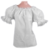 Ladies Peasant Blouse - Short Sleeve