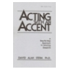 Acting with an Accent New York City Accent Dialect CD