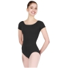 Adult Nylon Short Sleeve Leotard - Capezio Style TB133