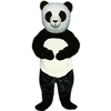 Pandora Panda Mascot. This Pandora Panda mascot comes complete with head, body, hand mitts and foot covers. This is a sale item. Manufactured from only the finest fabrics. Fully lined and padded where needed to give a sculptured effect. Comfortable to wear and easy to maintain. All mascots are custom made. Due to the fact that all mascots are made to order, all sales are final. Delivery will be 2-4 weeks. Rush ordering is available for an additional fee. Please call us toll free for more information. 1-877-218-1289