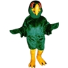 Pedro Parrot Mascot. This Pedro Parrot mascot comes complete with head, body, hand mitts and foot covers. This is a sale item. Manufactured from only the finest fabrics. Fully lined and padded where needed to give a sculptured effect. Comfortable to wear and easy to maintain. All mascots are custom made. Due to the fact that all mascots are made to order, all sales are final. Delivery will be 2-4 weeks. Rush ordering is available for an additional fee. Please call us toll free for more information. 1-877-218-1289