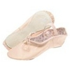 Pink Daisy Ballet Slippers - Adult - Wide