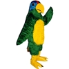 Polly Parrot Mascot. This Polly Parrot mascot comes complete with head, body, hand mitts and foot covers. This is a sale item. Manufactured from only the finest fabrics. Fully lined and padded where needed to give a sculptured effect. Comfortable to wear and easy to maintain. All mascots are custom made. Due to the fact that all mascots are made to order, all sales are final. Delivery will be 2-4 weeks. Rush ordering is available for an additional fee. Please call us toll free for more information. 1-877-218-1289
