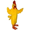 Realistic Chicken Mascot. This Realistic Chicken mascot comes complete with head, body, hand mitts and foot covers. This is a sale item. Manufactured from only the finest fabrics. Fully lined and padded where needed to give a sculptured effect. Comfortable to wear and easy to maintain. All mascots are custom made. Due to the fact that all mascots are made to order, all sales are final. Delivery will be 2-4 weeks. Rush ordering is available for an additional fee. Please call us toll free for more information. 1-877-218-1289
