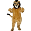 Realistic Lion Mascot. This Realistic Lion mascot comes complete with head, body, hand mitts and foot covers. This is a sale item. Manufactured from only the finest fabrics. Fully lined and padded where needed to give a sculptured effect. Comfortable to wear and easy to maintain. All mascots are custom made. Due to the fact that all mascots are made to order, all sales are final. Delivery will be 2-4 weeks. Rush ordering is available for an additional fee. Please call us toll free for more information. 1-877-218-1289