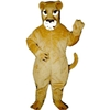 Realistic Lioness Mascot. This Realistic Lioness mascot comes complete with head, body, hand mitts and foot covers. This is a sale item. Manufactured from only the finest fabrics. Fully lined and padded where needed to give a sculptured effect. Comfortable to wear and easy to maintain. All mascots are custom made. Due to the fact that all mascots are made to order, all sales are final. Delivery will be 2-4 weeks. Rush ordering is available for an additional fee. Please call us toll free for more information. 1-877-218-1289