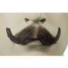 Deluxe Human Hair Small English Mustache