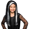 Witch Child Wig - Black With Streaks