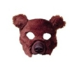 Plush Bear Animal Mask