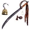 Caribbean Pirate Costume Accessory Kit