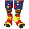 Clown Shoes with Toe Socks Set