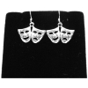 Comedy & Tragedy Dangle Earrings