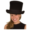 Flared Wool Felt Top Hat