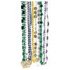 Mardi Gras Assorted Beads 100 Pack