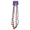 Mardi Gras Peace Symbol Throw Beads