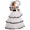 Southern Belle Black & White Deluxe Adult Costume