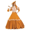 Early 20th Century Walking Dress Deluxe Adult Costume