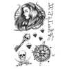 Scallywag Pirate Temporary Tattoos