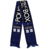 Dr. Who Tardis Police Box Scarf