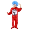 Dr. Seuss Thing 1 and Thing 2  Kids Costume