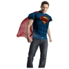 Superman Top with Cape Adult Costume