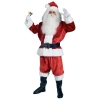Crimson Imperial Plush Santa Suit