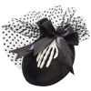 Mini Burlesque Skeleton Hat