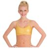 Shimmery Adjustable Dance Bra Top