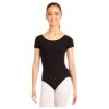 Adult Cotton Short Sleeve Leotard