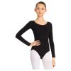 Adult Cotton Long Sleeve Leotard