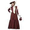 Victorian Afternoon Dress Deluxe Adult Costume