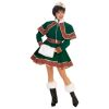 Short Victorian Christmas Caroler Deluxe Adult Costume