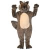 Growling Wolf Mascot - Sales