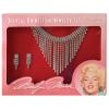 Marilyn Monroe Rhinestone Jewelry Set